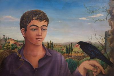 Boy with Raven, 1962-Bettina Shaw-Lawrence-Giclee Print
