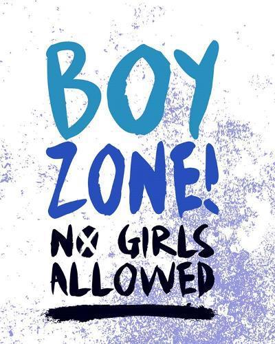 Boy Zone-Grunge-Color Me Happy-Art Print