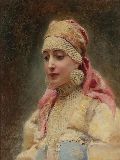 Boyar's Wife-Konstantin Yegorovich Makovsky-Giclee Print