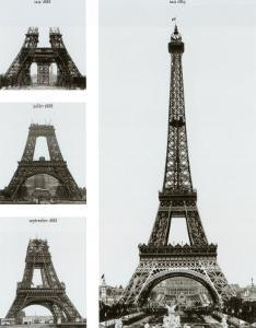 Construction of the Eiffel Tower by Boyer Viollet