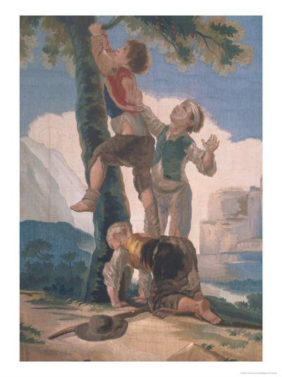 Boys Climbing a Tree-Suzanne Valadon-Giclee Print