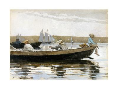 Boys in a Dory-Winslow Homer-Giclee Print