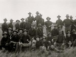 Boys of the 71st N.Y. at Montauk Point after Return from Cuba