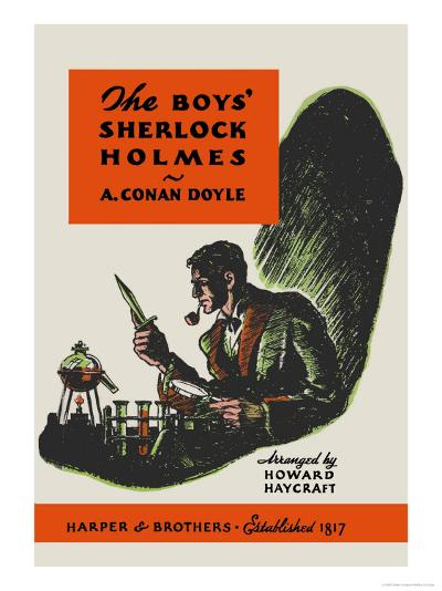 Boys' Sherlock Holmes-Charles Livingston Bull-Art Print