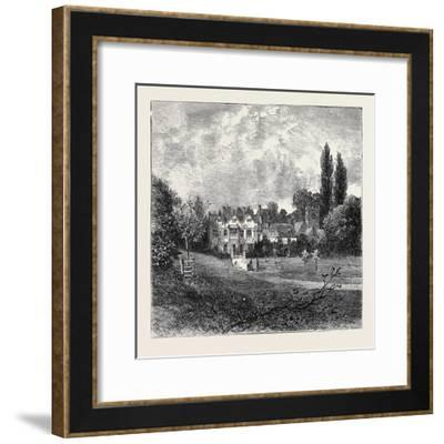 Boyton Manor, Wiltshire--Framed Giclee Print