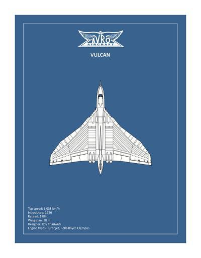 BP Avro Vulcan-Mark Rogan-Giclee Print