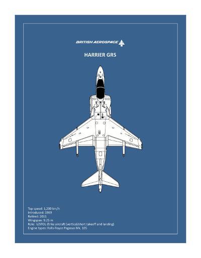 BP BAE HarrierGR5-Mark Rogan-Giclee Print