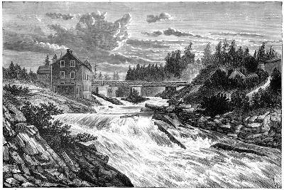 Bracebridge, Muskoka, Ontario, Canada, 19th Century--Giclee Print