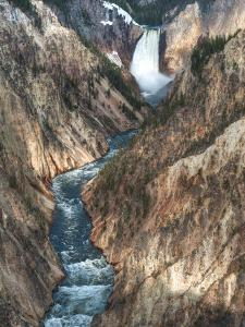 Lower Yellowstone Falls Is the Largest Falls in What Is Considered the Grand Canyon of Yellowstone. by Brad Beck