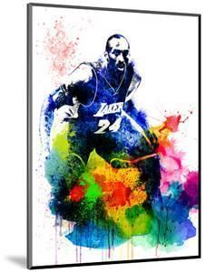 Kobe Bryant I by Brad Dillon