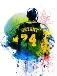 Kobe Bryant Watercolor II-Brad Dillon-Art Print