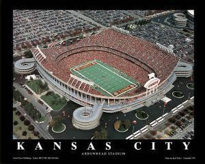 Kansas City Chiefs Arrowhead Stadium Sports by Brad Geller