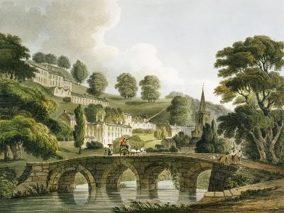 Bradford Old Bridge, Print Series, 1806-John Claude Nattes-Giclee Print