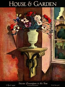 House & Garden Cover - April 1926 by Bradley Walker Tomlin