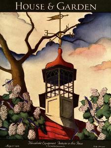 House & Garden Cover - August 1926 by Bradley Walker Tomlin