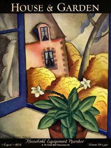 House & Garden Cover - August 1928 by Bradley Walker Tomlin
