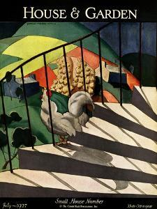 House & Garden Cover - July 1927 by Bradley Walker Tomlin