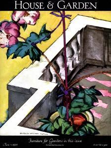 House & Garden Cover - June 1925 by Bradley Walker Tomlin