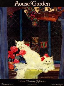 House & Garden Cover - November 1922 by Bradley Walker Tomlin