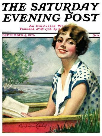 """Summer Reading,"" Saturday Evening Post Cover, September 4, 1926"