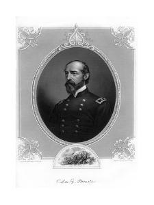 General George Meade, Us Army Officer and Civil Engineer, 1862-1867 by Brady