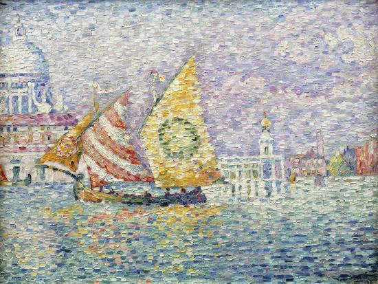Bragozzo, Venice, 1905-Paul Signac-Giclee Print