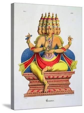 Brahma-A^ Geringer-Stretched Canvas Print