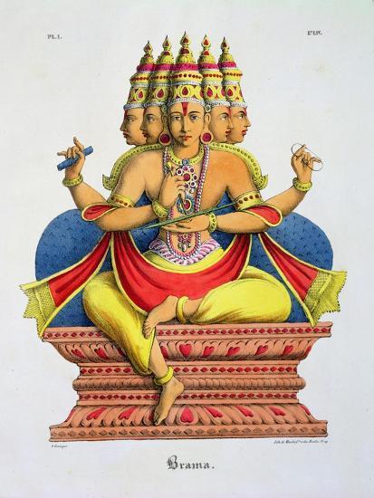 Brahma-A^ Geringer-Giclee Print