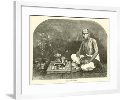 Brahmin Priest--Framed Giclee Print