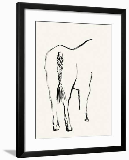 Braided Tail-Kristine Hegre-Framed Giclee Print