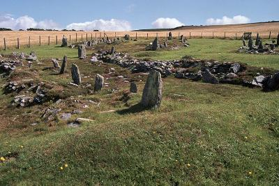 Braiid Norse Site on the Isle of Man-CM Dixon-Photographic Print