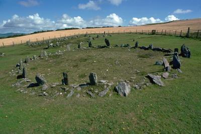 Braiid Settlement Site on the Isle of Man-CM Dixon-Photographic Print