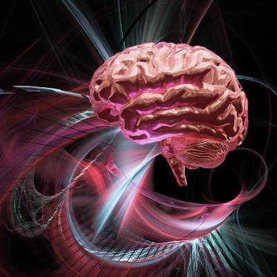 Brain Research, Conceptual Artwork-Laguna Design-Photographic Print