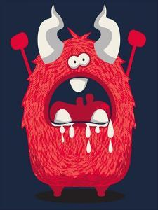 Cool Monster, Yeti, Alien by braingraph