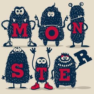 Monster Set by braingraph