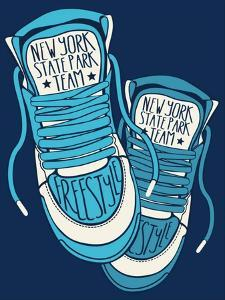 Sneakers Graphic Design for Tee by braingraph