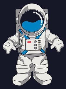 Vector Astronaut Design by braingraph