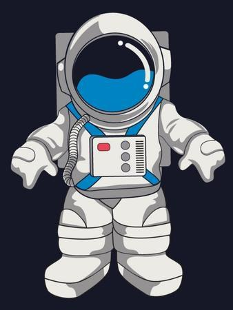 Vector Astronaut Design