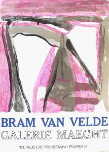 Expo 75 - Galerie Maeght by Bram van Velde