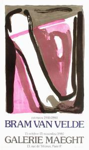 Expo 80 - Galerie Maeght by Bram van Velde