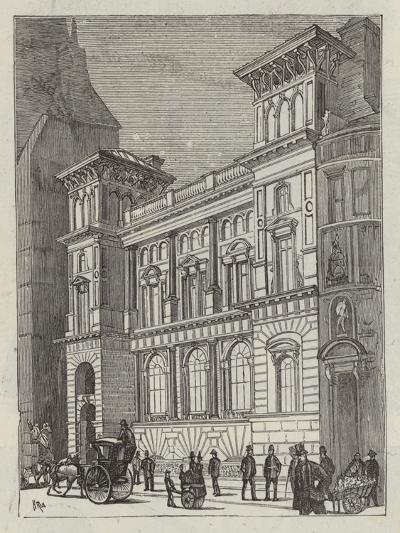 Branch Bank of England, Fleet Street--Giclee Print