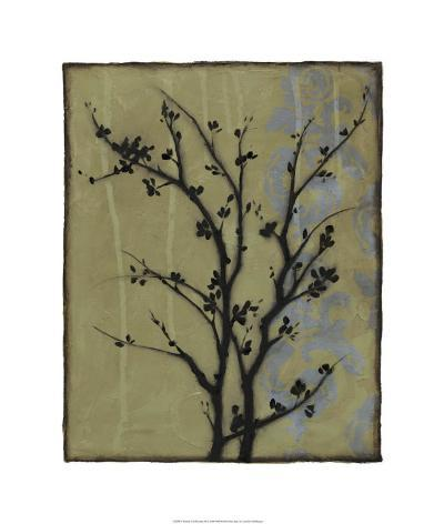 Branch in Silhouette III-Jennifer Goldberger-Limited Edition