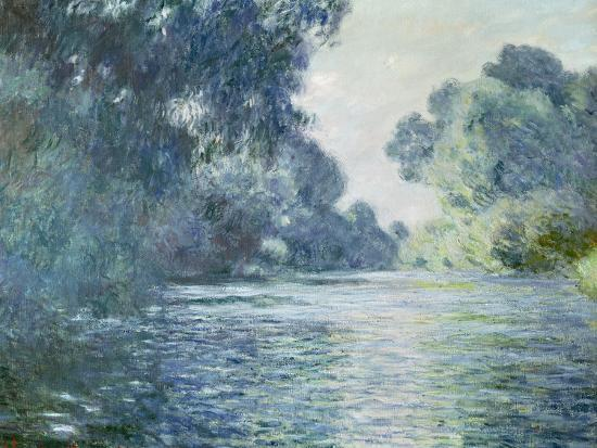 Branch of the Seine Near Giverny, 1897-Claude Monet-Premium Giclee Print