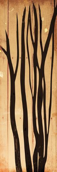 Branch On Wood-Jace Grey-Art Print