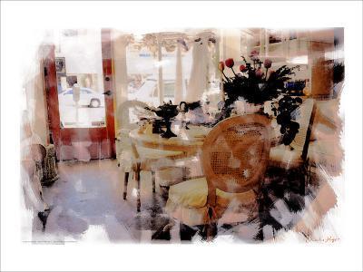 Branch Table, Santa Monica, California-Nicolas Hugo-Giclee Print