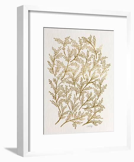 Branches in Gold-Cat Coquillette-Framed Giclee Print