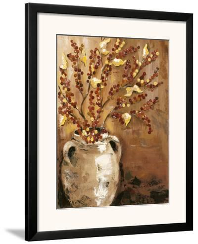 Branches in Vase I-Jade Reynolds-Framed Art Print