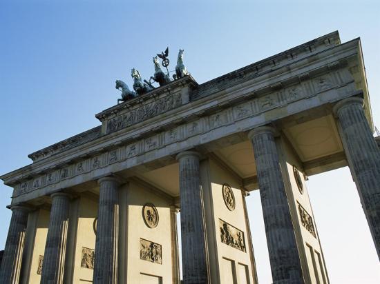 Brandeburg Gate, Berlin, Germany-Hans Peter Merten-Photographic Print
