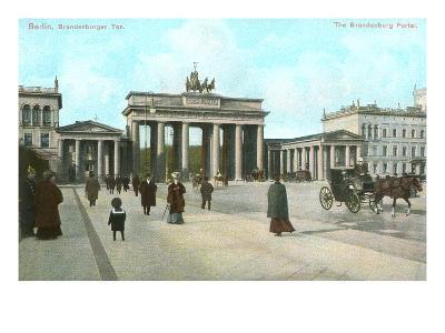 Brandenburg Gate, Berlin, Germany--Art Print