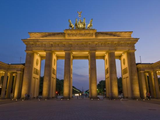 Brandenburg Gate, Pariser Platz, Berlin, Germany-Neale Clarke-Photographic Print